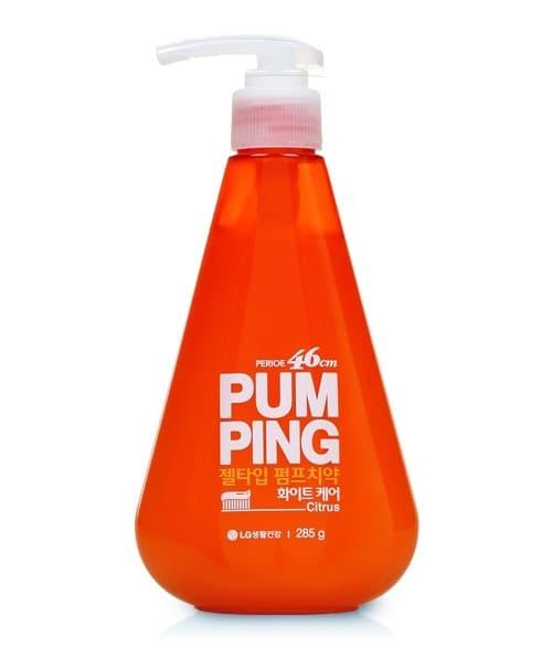 Зубная Паста-Гель Pumping Whitening Отбеливающая Цитрус