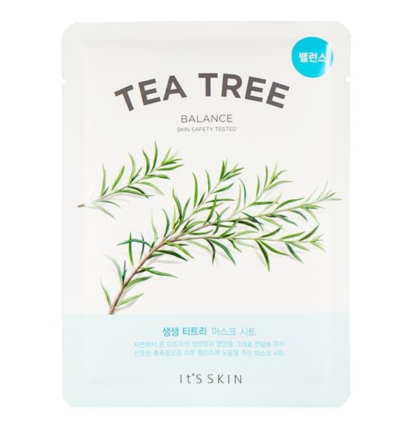 The Fresh Tea Tree Маска Тканевая Противовоспалительная С Чайным Деревом
