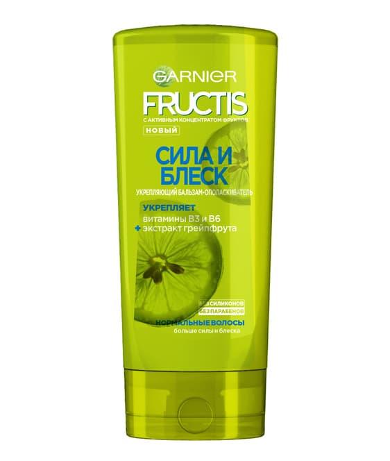 Fructis Бальзам-Ополаскиватель Сила И Блеск Укрепляющий Для Нормальных Волос