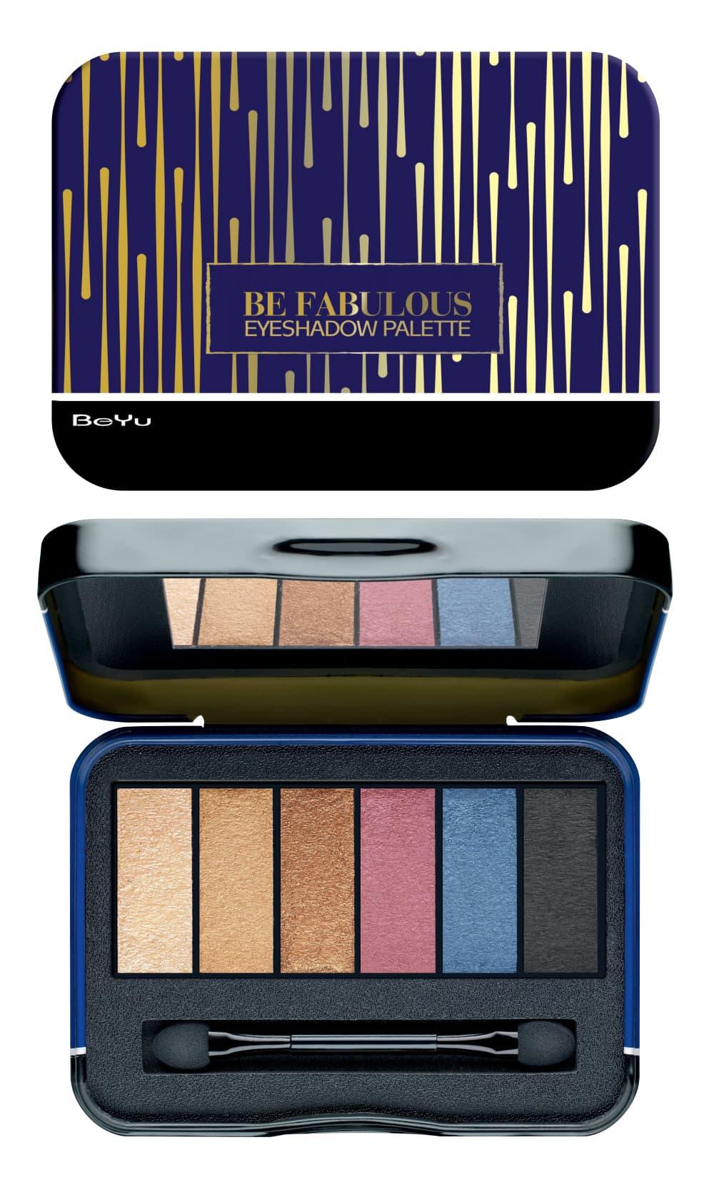 Купить Be Fabulous Eyeshadow Palette Палетка Теней Для Век, Be Yu