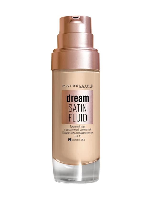 Dream Satin Fluid Тональный Крем-Флюид Для Лица