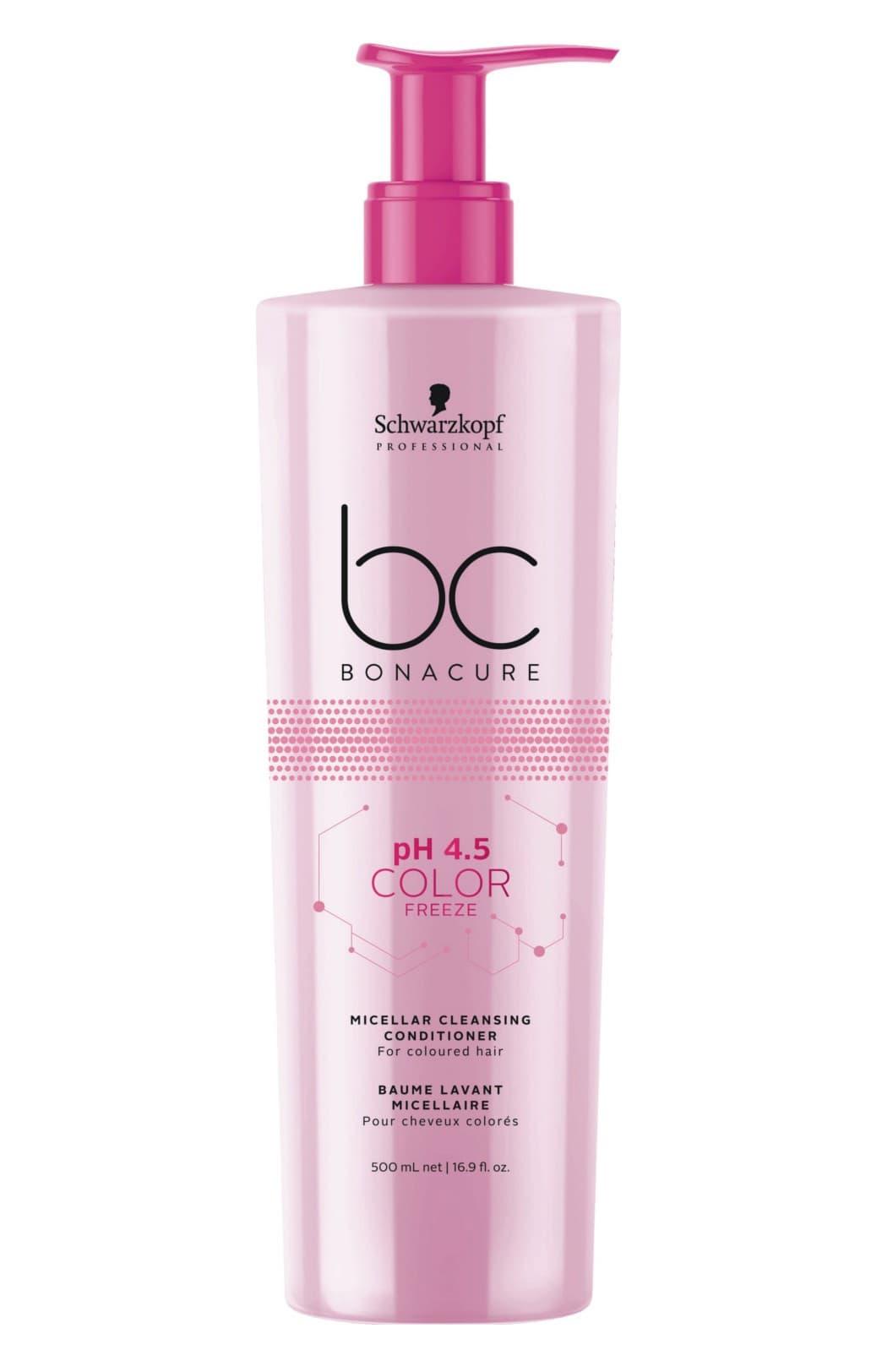Купить Bonacure Ph 45 Color Freeze Мицеллярный Очищающий Кондиционер 500 Мл, Schwarzkopf Professional