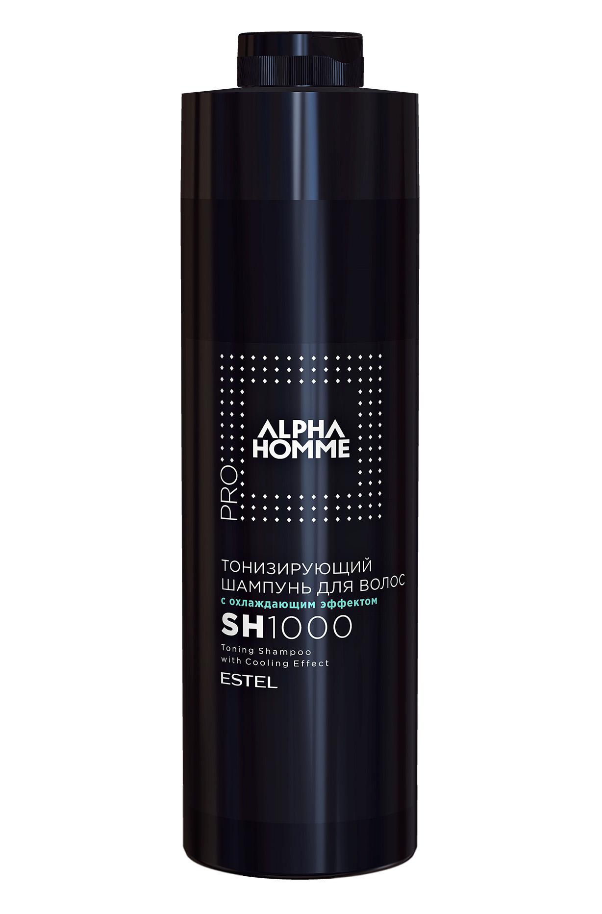Купить со скидкой Alpha Homme Тонизирующий Шампунь Для Волос СОхлаждающим Эффектом