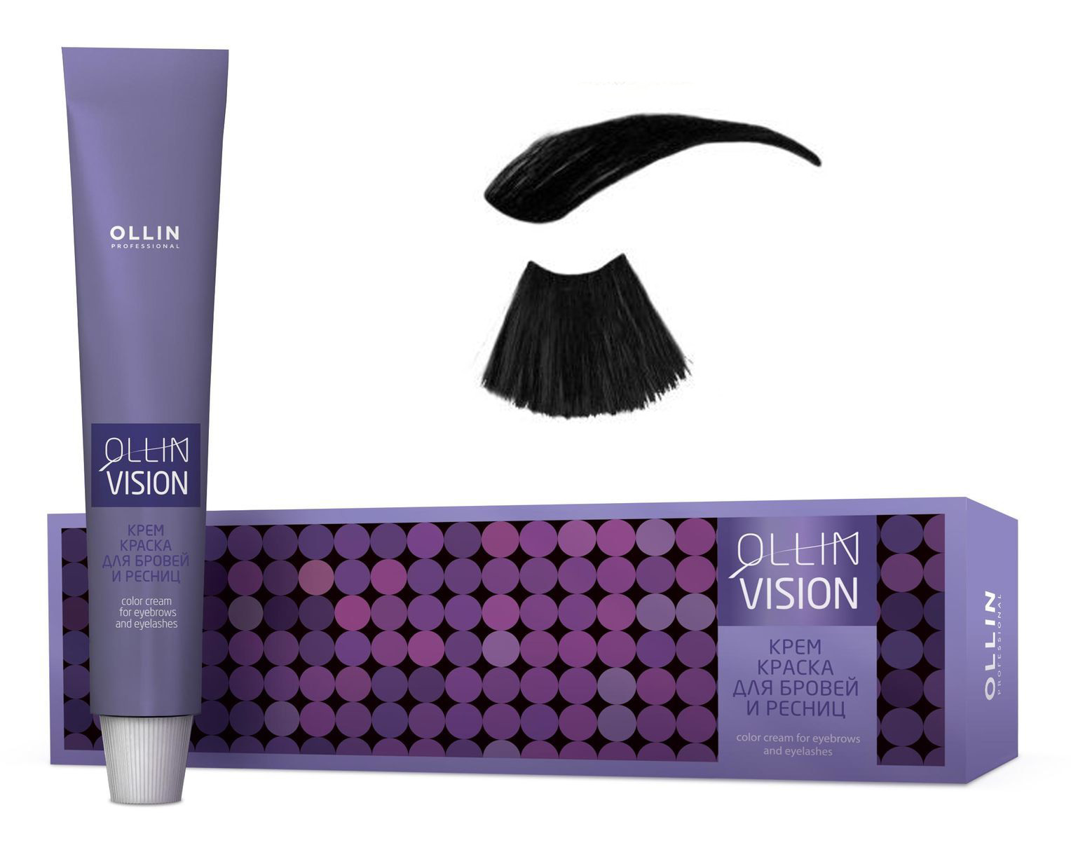 Купить Vision Set Крем-Краска Для Бровей И Ресниц, Ollin Professional