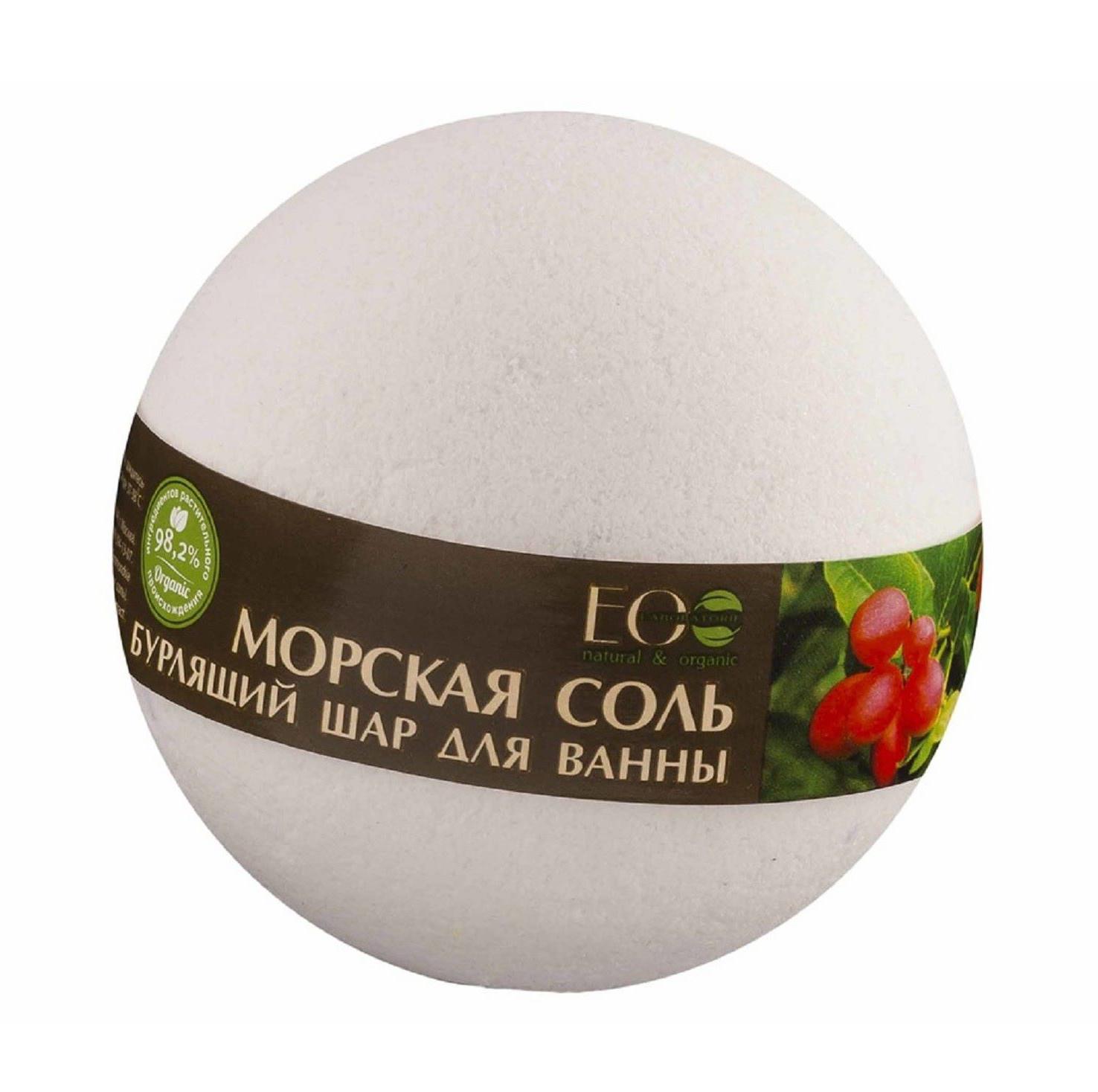Купить Бурлящий Шар Для Ванны Ягоды Асаи И Годжи 220 Г, Ecolab