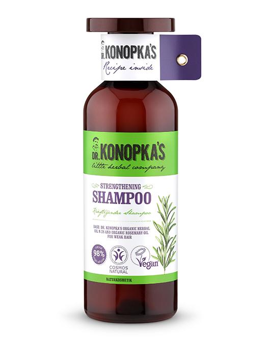 Strengthening Shampoo Шампунь Для Волос Укрепляющий Dr Konopkas