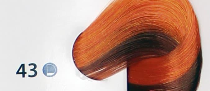 De Luxe Краска Для ВолосКраски для волос<br>Эстель Делюкс палитра с 2012 года включает в себя 140 оттенков  Эта краска для волос  которая изготовлена отечественным производителем  Используя эту краску  вы получите глубокий цвет  стойкость окрашивания  а также сможете насладиться фантастическим блеском Ваших волос  Краска для волос Эстель Делюкс предназначена для тонких  ослабленных волос  Она создана на основе хромоэнергетического комплекса  Это значит  что в состав краски входить специальная эмульсия  которая служит для защиты волос во время окрашивания  Основою комплекса является коктейль  в котором содержатся экстракт каштана  хитозан  а также витамины и микроэлементы  Благодаря этому Эстель Делюкс оказывает лечебное воздействие на Ваши волосы и заботится об их структуре  Используя ее  Ваши волосы будут выглядеть живыми и здоровыми  Эстель Делюкс - это краска  которая легко смешивается  Ее можно просто и быстро нанести на волосы  А также она считается экономичной в использовании  Ее расход становит - 60г  для средней густоты волос и длиной до 15 см  Эту краску можно использовать как и в профессиональных салонах  так и в домашних условиях<br>Type: № 43 Медно-золотистый;