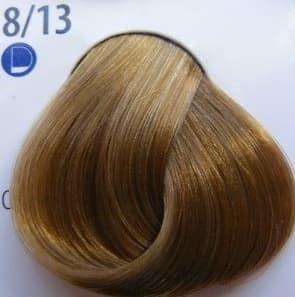 De Luxe Краска Для ВолосКраски для волос<br>Эстель Делюкс палитра с 2012 года включает в себя 140 оттенков  Эта краска для волос  которая изготовлена отечественным производителем  Используя эту краску  вы получите глубокий цвет  стойкость окрашивания  а также сможете насладиться фантастическим блеском Ваших волос  Краска для волос Эстель Делюкс предназначена для тонких  ослабленных волос  Она создана на основе хромоэнергетического комплекса  Это значит  что в состав краски входить специальная эмульсия  которая служит для защиты волос во время окрашивания  Основою комплекса является коктейль  в котором содержатся экстракт каштана  хитозан  а также витамины и микроэлементы  Благодаря этому Эстель Делюкс оказывает лечебное воздействие на Ваши волосы и заботится об их структуре  Используя ее  Ваши волосы будут выглядеть живыми и здоровыми  Эстель Делюкс - это краска  которая легко смешивается  Ее можно просто и быстро нанести на волосы  А также она считается экономичной в использовании  Ее расход становит - 60г  для средней густоты волос и длиной до 15 см  Эту краску можно использовать как и в профессиональных салонах  так и в домашних условиях<br>Type: № 8/13 Светло-русый пепельно-золотистый;