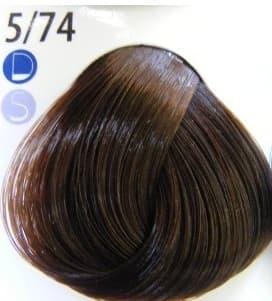 Купить De Luxe Краска Для Волос № 5/74 Светлый Шатен Коричнево-Медный, Estel