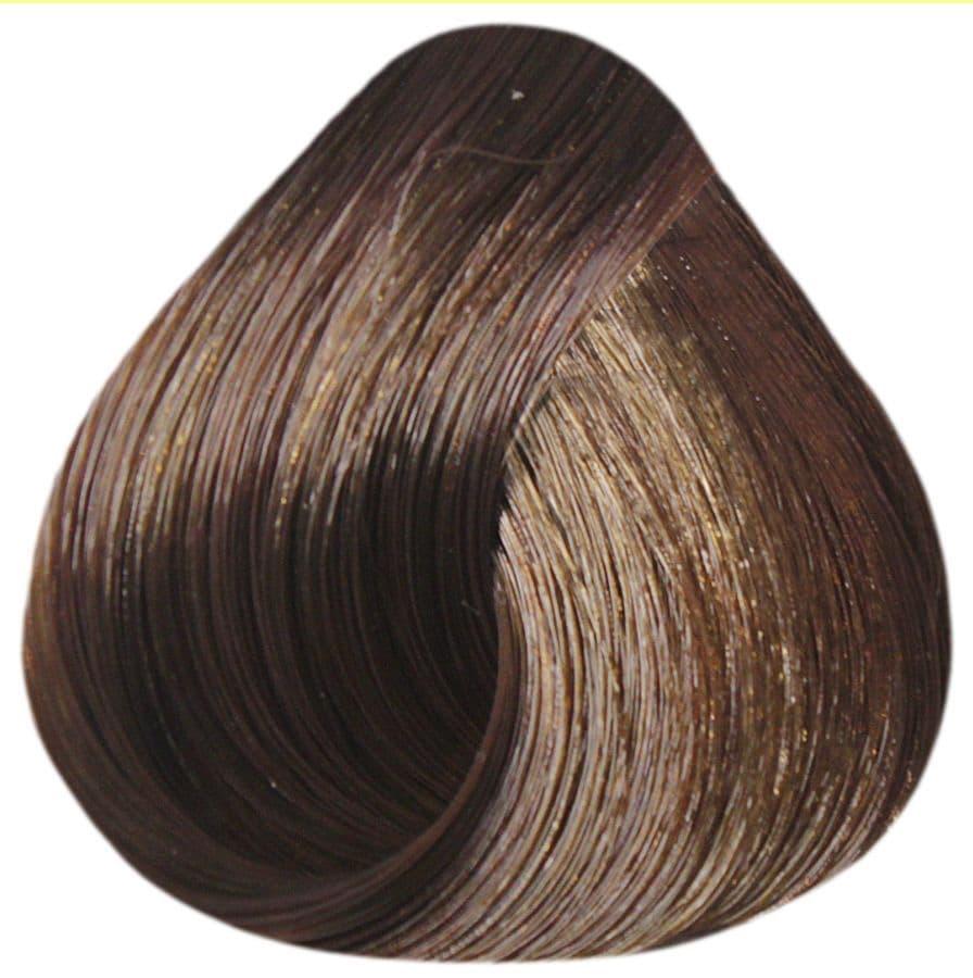 De Luxe Silver Крем-Краска Для Седых ВолосКраски для волос<br>Краска DE LUXE SILVER от ESTEL Professional подходит для тех  кто желает получить насыщенный цвет и полностью закрасить седину  Содержание в составе краски натуральных веществ и красящих микрочастиц гарантирует стойкий цвет даже после нескольких недель<br>Type: № 7/37 Русый золотисто-коричневый;