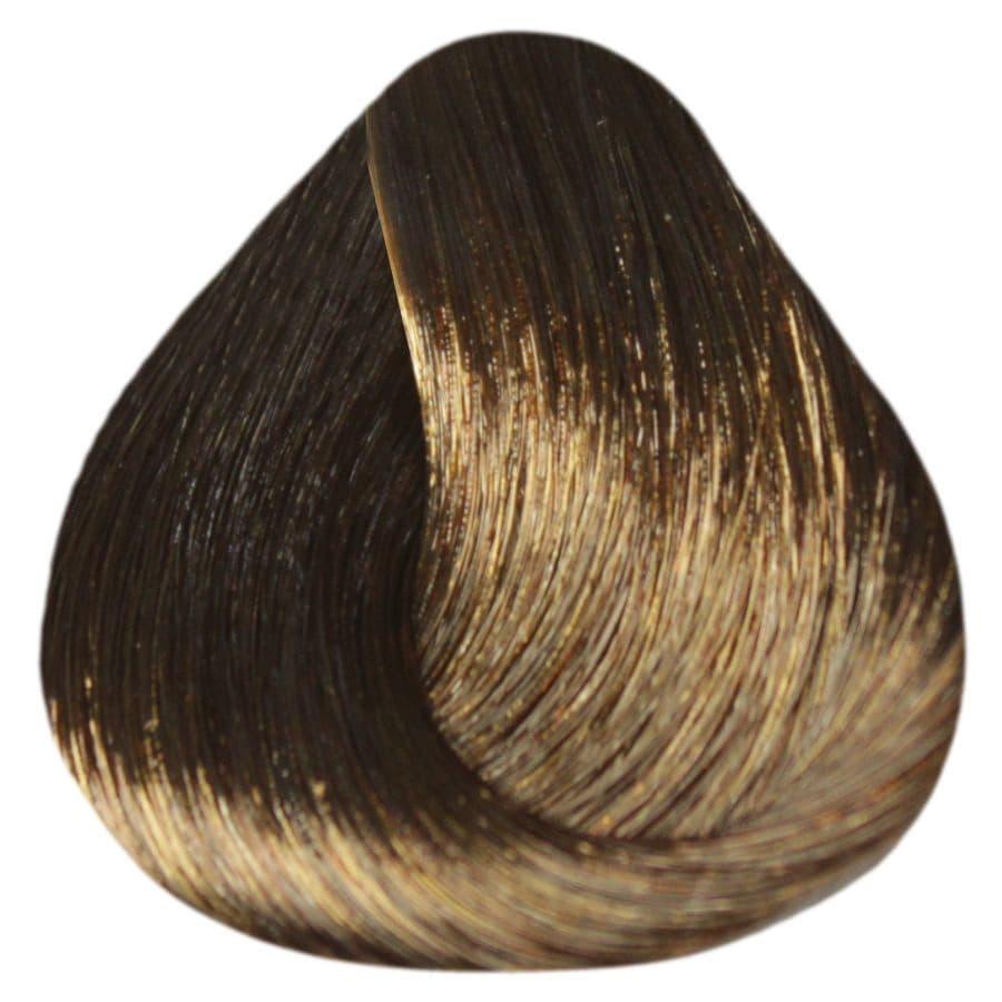 De Luxe Silver Крем-Краска Для Седых ВолосКраски для волос<br>Краска DE LUXE SILVER от ESTEL Professional подходит для тех  кто желает получить насыщенный цвет и полностью закрасить седину  Содержание в составе краски натуральных веществ и красящих микрочастиц гарантирует стойкий цвет даже после нескольких недель<br>Type: № 5/7 Светлый шатен коричневый;