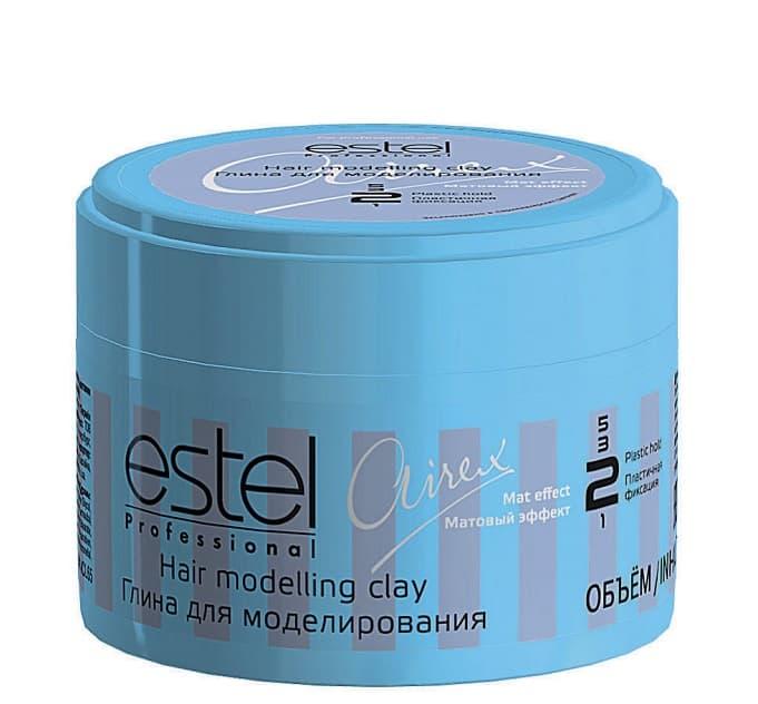 Купить со скидкой Airex Hair Modelling Clay Глина Для Моделирования С Матовым Эффектом Пластичной Фиксации