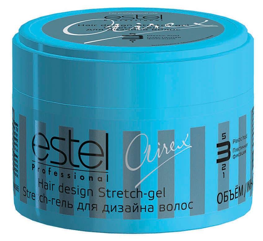 Купить со скидкой Airex Hair Desigh Stretch-Gel Гель Для Дизайна Волос Пластичной Фиксации