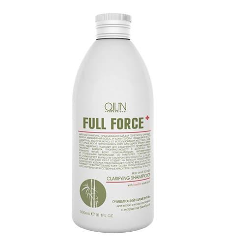 Ollin Professional Full Force Очищающий Шампунь Для Волос И Кожи Головы С Экстрактом Бамбука