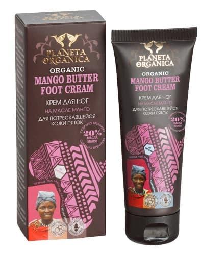 Planeta Organica Африка Крем Для Ног Для Потрескавшейся Кожи Пяток Mango Butter