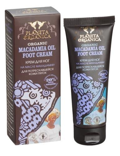 Planeta Organica Африка Крем Для Ног Для Потрескавшейся Кожи Пяток Macadamia Oil