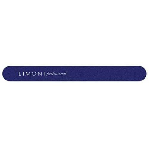 Пилка Color Для Ногтей Темно-Синяя Прямая 220220