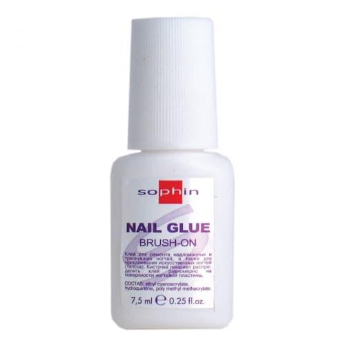 Nail Glue Brush-On Клей Для Ногтей С КисточкойКлей для ногтей и типсов<br>Клей предназначен для ремонта надломанных и треснувших ногтей  а также для приклеивания искусственных ногтей  типсов   Кисточка поможет равномерно распределить клей на поверхности ногтевой пластины<br>Type: 8 г;