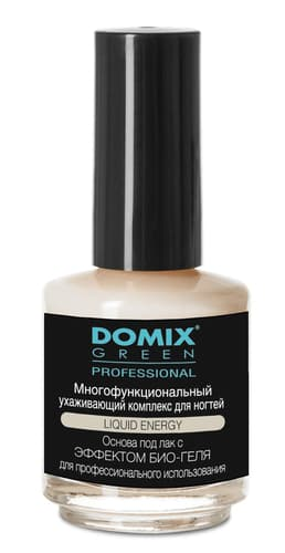 Domix Green Liquid Energy Многофункциональный Ухаживающий Комплекс Для Ногтей