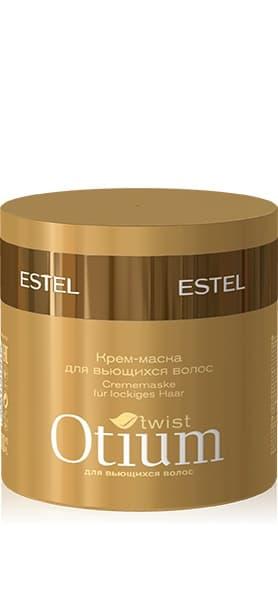 Otium Twist Крем-Маска Для Вьющихся ВолосМаски<br>Специально разработанная для вьющихся волос кремообразная маска обеспечивает управляемость непослушных локонов при укладке  Придаёт волосам роскошную мягкость и шелковистость  наполняет блеском  Обеспечивает управляемость непослушных локонов и облегчает создание любого фантазийного стайлинга<br>Type: 300 мл;