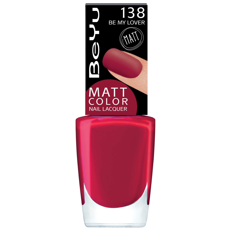 Be Yu Matt Color Nail Lacquer Лак Для Ногтей С Матовым Эффектом