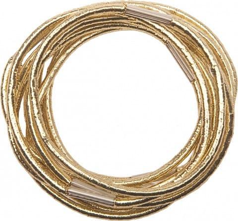 Резинки Для Волос Золотистые Midi Re042Для волос<br>Резинки для волос золотистые midi  10 штук<br>Type: 10 шт;