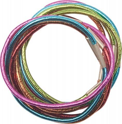 Dewal Резинки Для Волос Цветные Блестящие Midi Re040