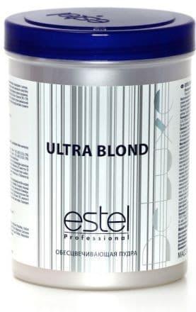 Ultra Blond De Luxe Пудра ОбесцвечивающаяКраски для волос<br>Микрогранулрованная пудра используется для осветления волос до 7 тонов декапирования и мелирования  Подходит для любых волос и любых техник блондирования Имеет приятный запах и совершенно не образует пыли  Бисаболол входящий в состав пудры оказывает анисептическое и противовоспалительное воздействие на волосы и кожу головы Применяется с 3  6  9 оксигентами DE LUXE<br>Type: 750 г;