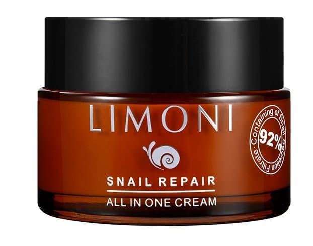 Купить Snail Repair All In One Крем Для Лица Восстанавливающий С Экстрактом Секреции Улитки, Limoni