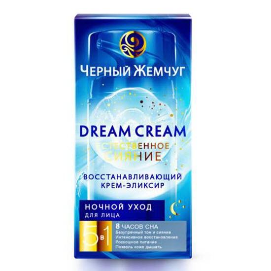 Крем-Эликсир Для Лица НочнойКрема и лосьоны<br>Ночной крем-эликсир Dream Cream заботится о красоте кожи даже ночью  помогая ей полностью восстановиться  Пока вы спите  крем-эликсир усиленно работает  Он дарит роскошное питание  насыщает её легкоусваиваемыми витаминами  стимулирует обменные процессы в клетках и способствует их регенерации  успокаивает и увлажняет  В результате кожа выглядит свежей и сияющей  как после полноценного 8-часового сна<br>Type: 50 мл;