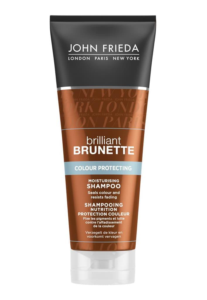 Фото #1: Brilliant Brunette Colour Protecting Увлажняющий Шампунь Для Защиты Цвета Темных Волос