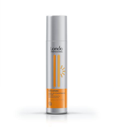 Sun Spark Несмываемый Солнцезащитный Лосьон-КондиционерКондиционеры<br>Глубоко питает и мгновенно защищает волосы от вредного воздействия ультрафиолетовых лучей  Делает волосы невероятно мягкими и блестящими  Содержит экстракт мандарина и масло макадамии<br>Type: 250 мл;