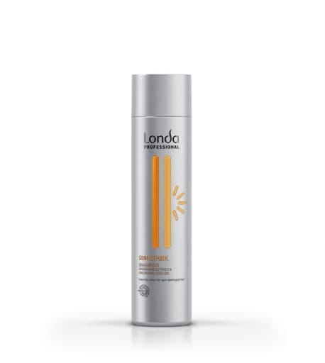 Sun Spark Солнцезащитный ШампуньШампуни<br>Глубоко питает и мгновенно защищает волосы от вредного воздействия ультрафиолетовых лучей  Делает волосы невероятно мягкими и блестящими  Содержит экстракт мандарина и масло макадамии<br>Type: 250 мл;