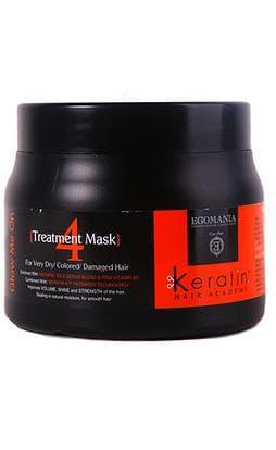 Egomania Keratin Hair Academy Маска Во Всем Блеске Для Очень Сухих Окрашенных И Поврежденных Волос