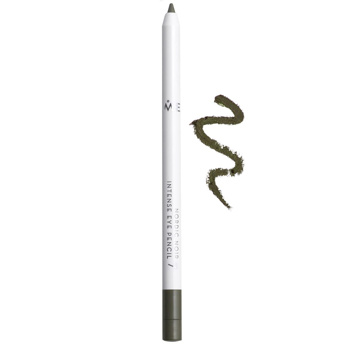 Nordic Noir Карандаш Для Век ИнтенсивныйКарандаши<br>Nordic Noir Intense Eye Pencil - это улучшенный вариант карандаша-каяла  Мягкая  кремообразная формула легко скользит по поверхности века и легко растушевывается  С помощью данного карандаша можно создать потрясающий рок-стиль  Содержание минерального пигмента делает цвет карандаша глубоким  и стойким на протяжении всего дня  Карандаш можно применять как самостоятельно  так и в качестве дополнения к теням для получения эффекта смоки-айз<br>Type: № 7 Green;