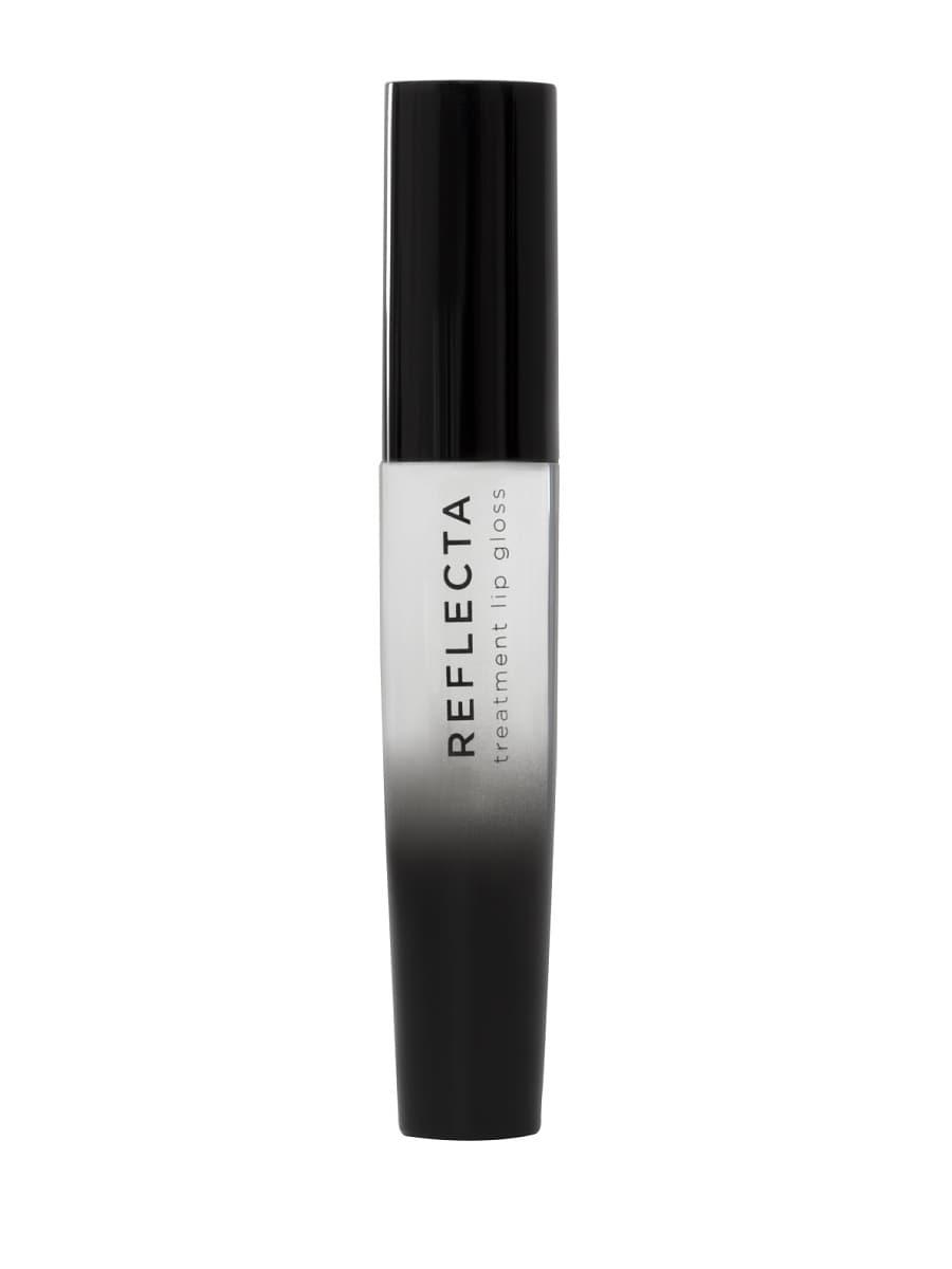 Reflecta Блеск-Уход Для ГубБлеск для губ<br>Благодаря своей формуле  богатой виниловыми полимерами и мульти-отражающими микрочастицами  губы приобретают сияние и глубокий оттенок  Технология с пептидами и гиалуроновой кислотой Maxi Lip  trade  стимулирует выработку коллагена   придает губам объем  Доступен в трех современных текстурах  экстра блестящий  сатиновый и прозрачный  Блеск-уход смягчает  разглаживает и защищает губы  Специальный аппликатор обтекаемой формы позволяет легко и безупречно наносить блеск  Блеск обладает тонким ванильным ароматом и кремообразной текстурой  Максимально комфортный  совершенно ощущается на губах  без липкого эффекта<br>Type: № 01;
