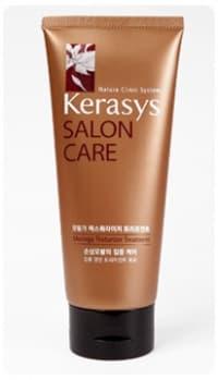 Salon Care Питание Маска Для ВолосМаски<br>Маска для волос  Kerasys  Salon Care  с экстрактом моринга  который помогает в короткие сроки восстановить сильно поврежденный волос  Использование маски в 2 5 раза эффективнее использования кондиционера для волос  Следуя системе 3-ступенчатого восстановления волос  сильно поврежденные волосы становятся здоровыми  эластичными и послушными  Экстракт моринга  богатый природными протеинами  кератином и витаминами  а также вытяжки из семян подсолнуха способствуют регенерации сильно поврежденного волоса вследствие частого использования фена  химической завивки  расчесывания<br>Type: 200 мл;