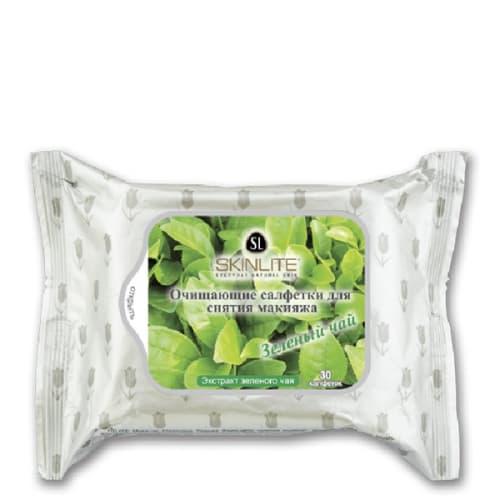 Купить со скидкой Make-Up Cleansing Tissues Green Tea Салфетки Очищающие Для Снятия Макияжа Зеленый Чай