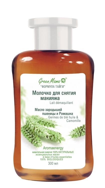 Green Mama Формула Тайги Молочко Для Снятия Макияжа Пшеница И Витамины