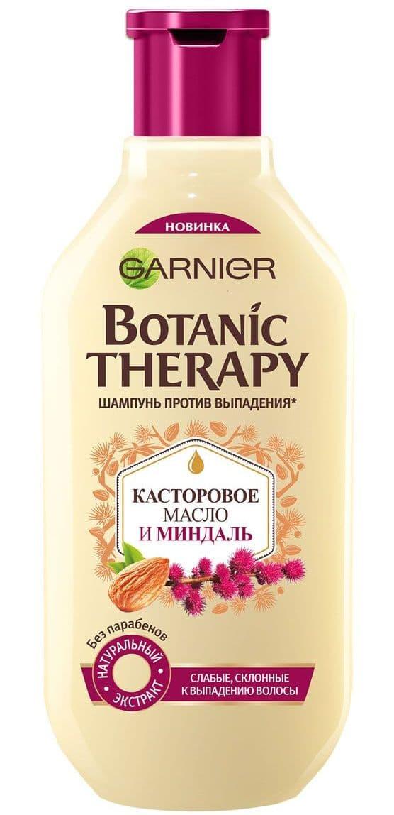 Garnier Botanic Therapy Касторовое Масло И Миндаль Шампунь Для Волос