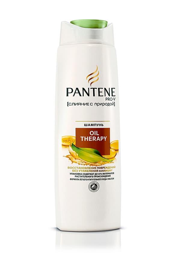 Pantene Oil Therapy Слияние С Природой Шампунь
