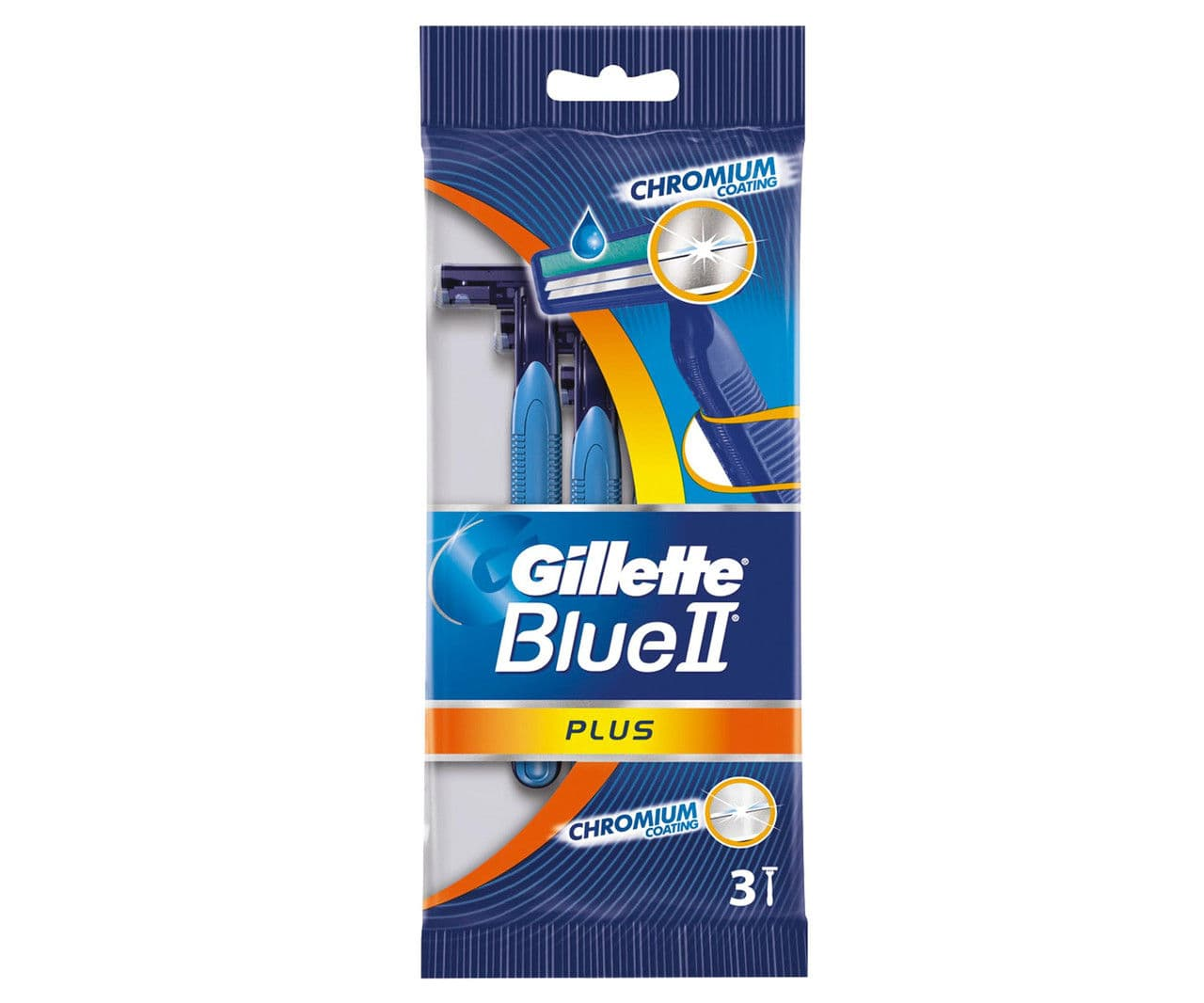 Купить со скидкой Blue Ii Plus Станки Для Бритья Одноразовые