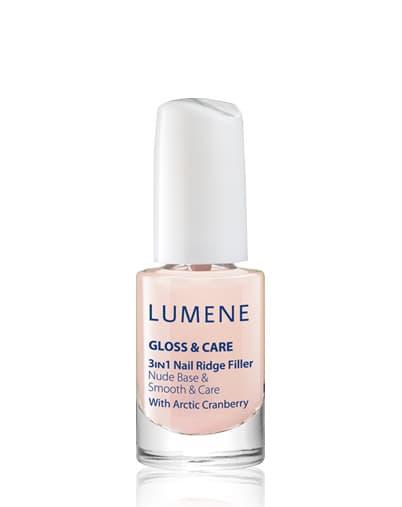 Lumene Gloss  Care Средство 3В1 Ухаживающая Основа  Закрепляющее Покрытие  Блеск