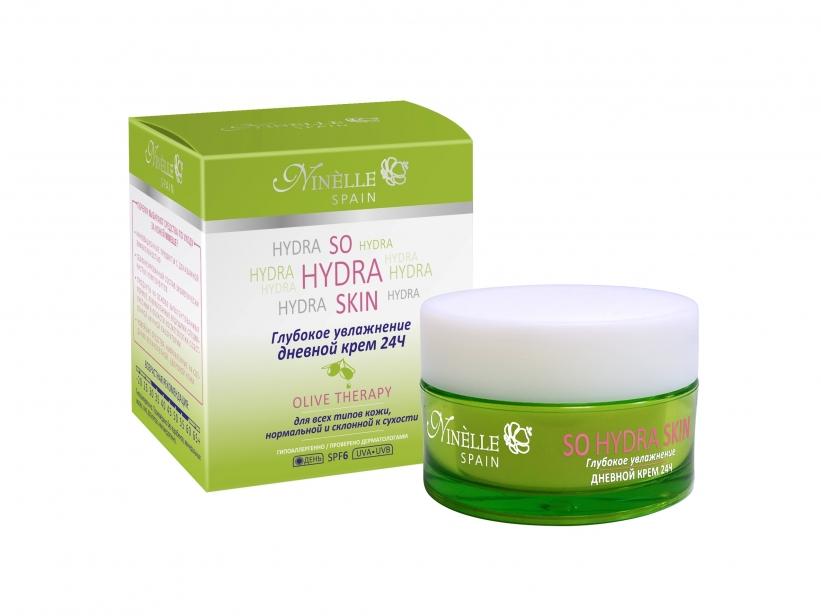 Купить со скидкой So Hydra Skin Крем Дневной Глубокое Увлажнение 24 Часа