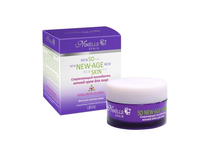 Ninelle So New-Age Skin Крем Для Лица Ночной Сохраняющий Молодость