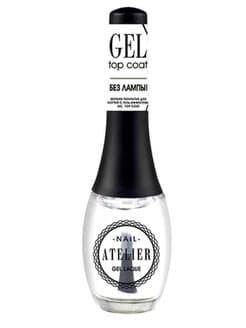 Купить со скидкой Nail Atelier Верхнее Покрытие Для Ногтей С Гель-Эффектом