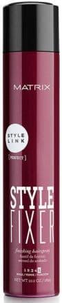 Style Link Style Fixer Лак СпрейЛаки<br>Для надежной фиксации сложных укладок  Лак имеет сильную степень фиксации  моментально высыхает на волосах  Придает волосам объем  не оставляет следов и не утяжеляет  Сверх сухое нанесение  долговременная фиксация  естественный блеск волос  Защищает укладку от повышенной влажности<br>Type: 400 мл;