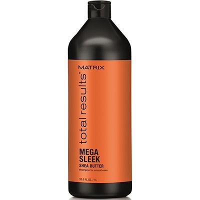 Matrix Total Results Mega Sleek Шампунь Для Гладкости Непослушных Волос С Маслом Ши