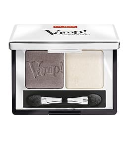 Купить Vamp Duo Тени Для Век Компактные Двойные № 008 Кремовый Серо-Коричневый, Pupa