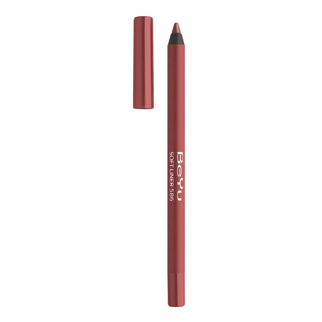 Soft Liner For Lips And More Карандаш Для Губ Контурный УниверсальныйКонтурные карандаши<br>Карандаш универсальный для губ SoftLiner Lips поможет вам создать идеальный контур ваших губ и выгодно подчеркнуть их форму  Контурный карандаш легко и приятно ложится на нежную кожу губ  оставляя ровную плотную цветную линию  Уникальность формулы карандаша в том  что через минуту происходит фиксация нанесенного цвета и карандаш становится водостойким  но при этом карандаш легко растушевать  Широкая цветовая палитра дает возможность идеально подобрать карандаш к любой помаде бренда<br>Type: № 586;